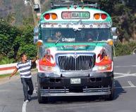 Kurczaków autobusy Obrazy Royalty Free