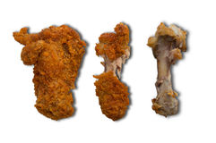 Kurczaków drumsticks pikantność piec smażącego przekąski gorącego zielarskiego pojęcie Fotografia Stock
