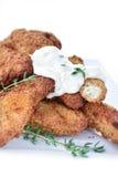 kurczaków goujons Zdjęcia Stock