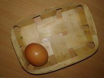 Kurczaków jajka w gracie greenfield obrazy stock