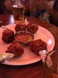 Kurczaków lollypops obrazy stock