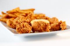 Kurczaków palce Zdjęcia Stock