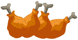kurczaków skrzydła Obrazy Stock