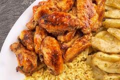 kurczaków skrzydła Zdjęcia Royalty Free