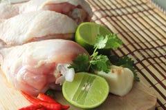 kurczaków warzywa zdjęcia stock