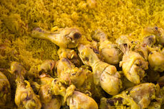 Kurczak Biryani w ryż obrazy stock
