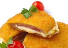 Kurczak Cordon bleu Zdjęcie Stock