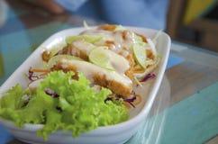 Kurczak cytryny kremowy kumberland Fotografia Stock