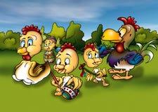 kurczak Easter ilustracji