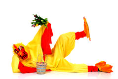 kurczak Easter obrazy royalty free
