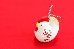 Kurczak figurka nowy rok Obraz Stock