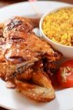 kurczak grilla Obrazy Royalty Free