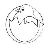 Kurczak ikona Obraz Stock
