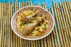 Kurczak Kabuli zdjęcia royalty free
