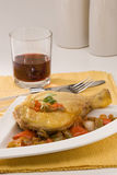 kurczak kuchnia pieprzy spanish obrazy stock