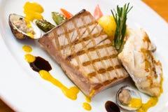 kurczak ostryg stek Obraz Royalty Free