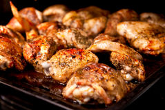 kurczak piec Zdjęcie Royalty Free