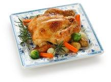 kurczak piec Obrazy Royalty Free
