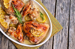 Kurczak piec Zdjęcie Stock