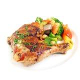 kurczak piec na grillu Obrazy Stock