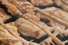 Kurczak Piec na grillu Fotografia Royalty Free