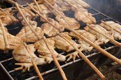 Kurczak Piec na grillu Obrazy Royalty Free