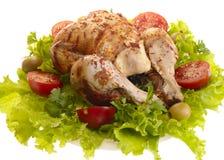 kurczak piec na grillu zdjęcie stock