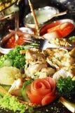 kurczak piec na grillu hindus Fotografia Stock