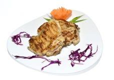 kurczak piec na grillu noga Zdjęcie Stock