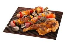 kurczak piec na grillu paneer Zdjęcie Stock