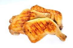 kurczak piec na grillu uda Zdjęcie Royalty Free