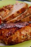 Kurczak piec Pierś Obrazy Stock