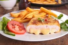 Kurczak pierś z serem zdjęcie stock
