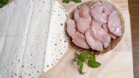 Kurczak Polędwicowy Fotografia Stock