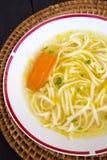 kurczak polewka chińska karmowa restauracyjna Obrazy Stock