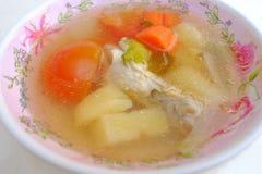 Kurczak polewki Tajlandia styl zdjęcie royalty free