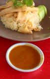 Kurczak Rice obrazy royalty free