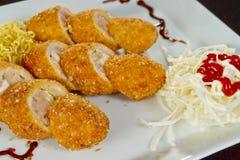 Kurczak rolki Zdjęcie Royalty Free
