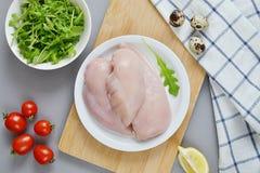 Kurczak sałatki składnik Zdjęcie Stock