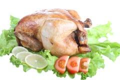 kurczak smażący zdjęcie stock