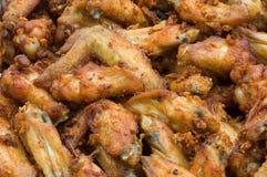 kurczak smażący Zdjęcie Royalty Free