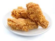kurczak smażący fotografia royalty free
