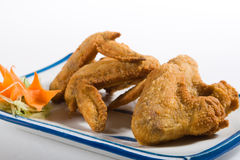 kurczak smażący skrzydła Obraz Stock