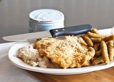 Kurczak Smażący stek Zdjęcie Royalty Free