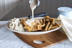 Kurczak Smażący stek obraz stock