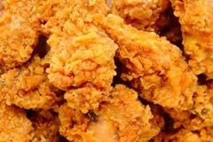 kurczak smażący Zdjęcia Stock