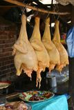 kurczak sprzedaży Obrazy Royalty Free