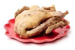 kurczak wyparzonych Fotografia Stock