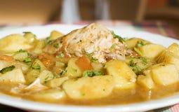 kurczak ziemniaków stew Fotografia Royalty Free
