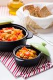 kurczak zup warzywnych Zdjęcie Royalty Free